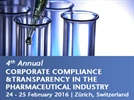 4th Annual Corporate Compliance & Transparency in Pharmaceutical Industry