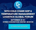 14th Cold Chain GDP & Temperature Management Logistics Global Forum