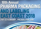 Pharma Packaging and Labeling East Coast 2018
