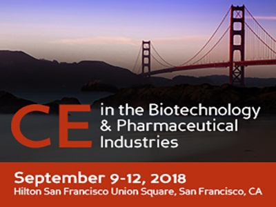 CE in the Biotechnology & Pharmaceutical Industries: 20th Symposium on the Practical Applications for the Analysis of Proteins, Nucleotides & Small Molecules