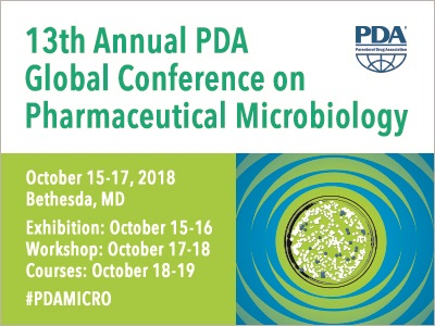 13th Annual PDA Global Conference on Pharmaceutical Microbiology