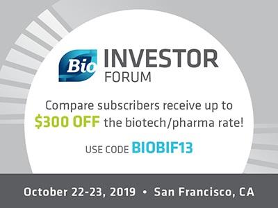2019 BIO Investor Forum