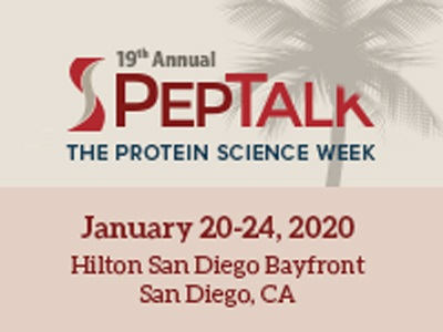 PepTalk: The Protein Science Week