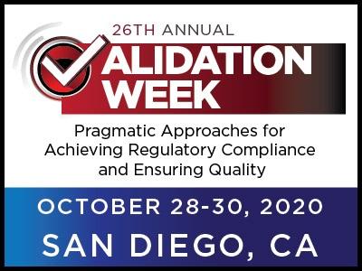 26th Annual Validation Week